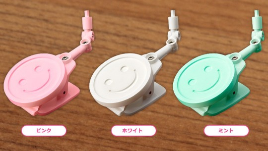 Nendoroid More Clip Stands (White Pink Mint)