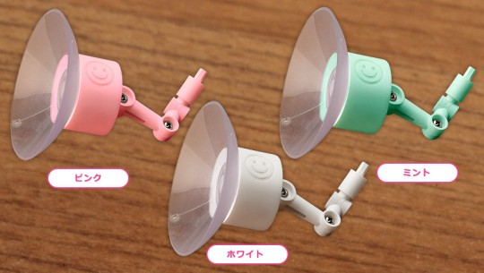 Nendoroid More Suction Stands (White Pink Mint)